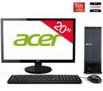 PC ACER Aspire X1430-007 OB avec écran 21,5 pour 449€