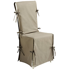 Lot de 2 housses de chaise TUTTI TEMPO, 6 col...