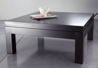 Meubles tables basses 5 - Table basse carree wenge ...