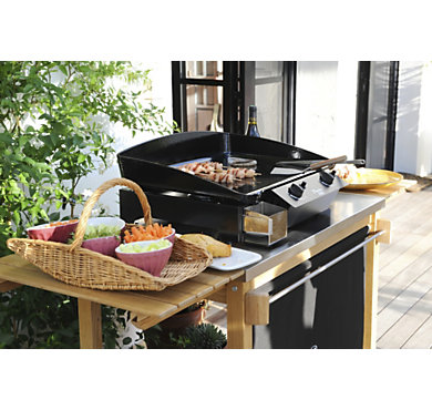 Plancha gaz eno tradition 60 barbecue et plancha barbecue jardin - Plancha tradition 60 ...