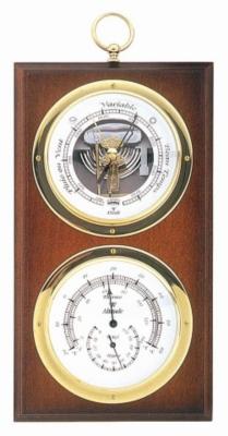 Baromètre Thermo/Hygromètre BAROSTAR Hi Sensitiv Ø 95 mm pour 100€