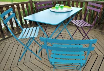 chaise de jardin bistro fermob. Black Bedroom Furniture Sets. Home Design Ideas