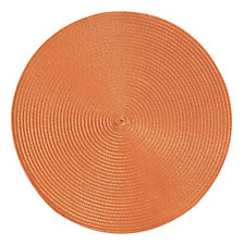 Lot de 4 sets de table Bulle orange