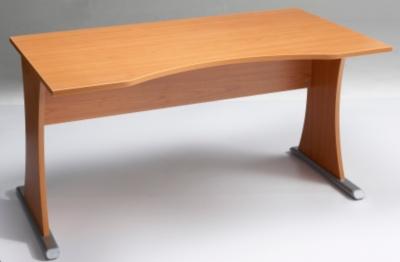 Bureau Capri largeur 140cm piètement base métal pour 179€