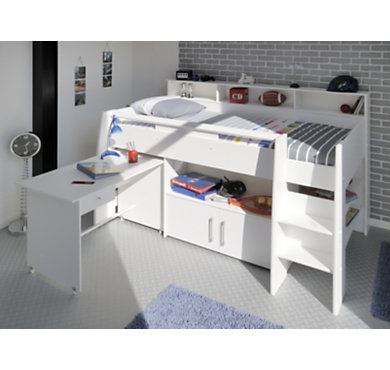 lit combin panda 90 x 200 cm. Black Bedroom Furniture Sets. Home Design Ideas