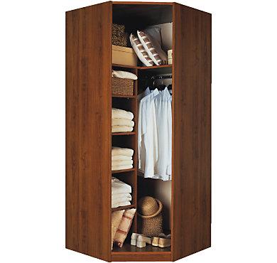 armoire d 39 angle d clic petite largeur. Black Bedroom Furniture Sets. Home Design Ideas