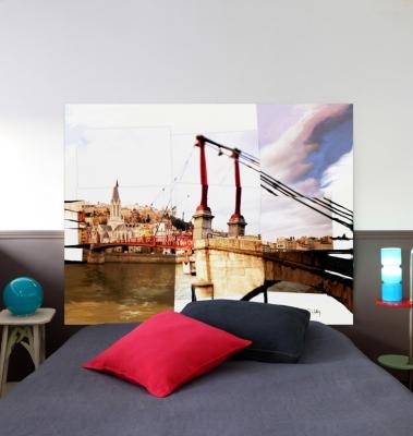 Tête de lit Double Vue pour 139€