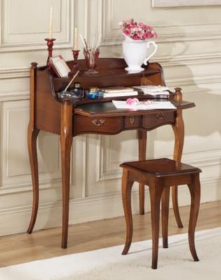 Petit bureau Louis XV Eole avec tabouret pour 1035€