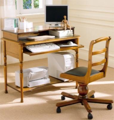Petit bureau Eole pieds tournés pour 759€