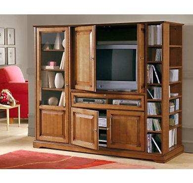 meuble t l hi fi multifonction florac. Black Bedroom Furniture Sets. Home Design Ideas