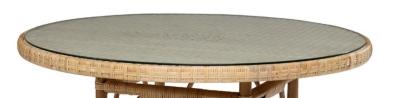 Option plateau verre diamètre 100cmGrand-Père pour 95€