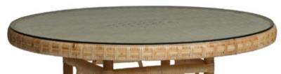 Option plateau verre diamètre 80cm Grand -Père pour 59€