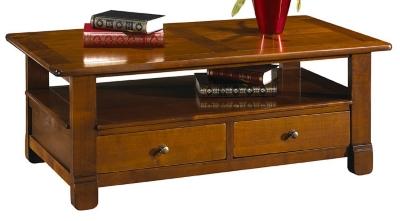 La table basse dessus bois Héritage finition antiquaire pour 860€