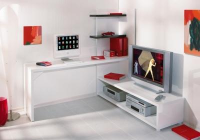 Meuble tv bureau images - Bureau meuble tv ...