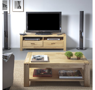 ensemble table basse et meuble tv luminescence tables. Black Bedroom Furniture Sets. Home Design Ideas