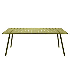 Table rectangulaire 207 x 100 cm FERMOB Luxem...