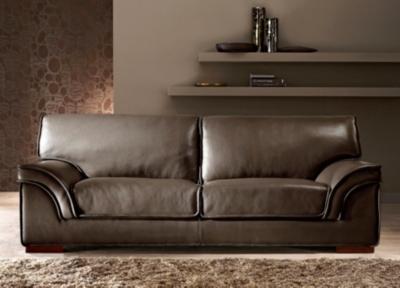 Canapé convertible cuir pleine fleur grain taureau pour 5216€