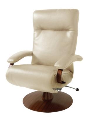 Fauteuil de relaxation manuel cuir pleine fleur grain taureau pour 2318€