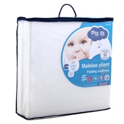Matelas bébé Pliant déhoussable PTIT LIT, 7 cm pour 40€