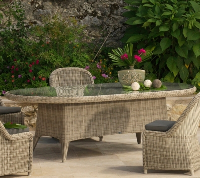Awesome Table De Jardin Ovale Resine Tressee Pictures - Amazing ...
