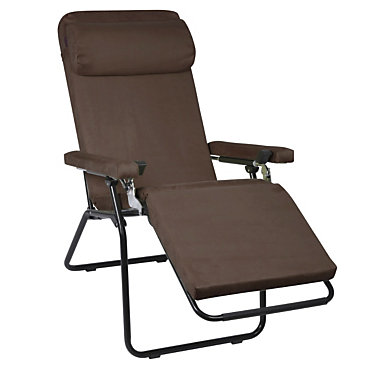 Fauteuil relax lafuma rpl 6 cm chocolat for Fauteuil relax exterieur lafuma