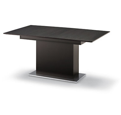 Table pied central avec allonge sole - Table pied central avec allonge ...