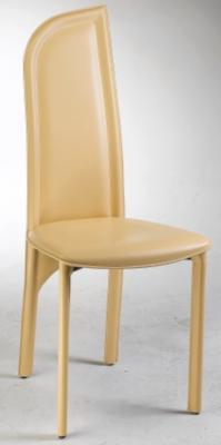 Lot de 2 chaises Sophia pointe à droite cuir pour 565€