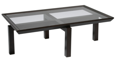 Meubles tables basses 5 - Table rectangulaire wenge ...