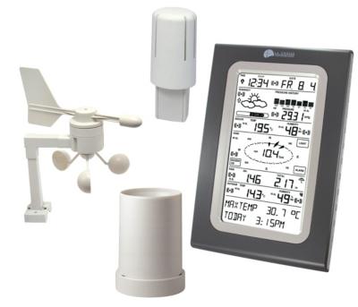 Centrale météo climatique écran tactile WS 3650 IT-MG-SIL pour 269€