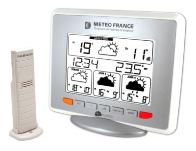 La station météo via satellite Météofrance WD 9530 F-IT-WH-S pour 70€