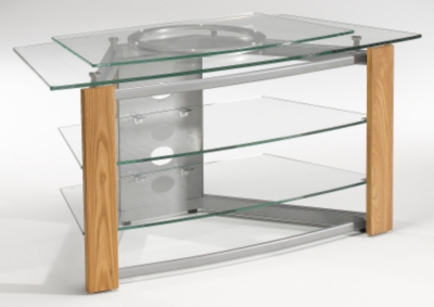 Meubles tv hi fi 7 for Table tele en verre