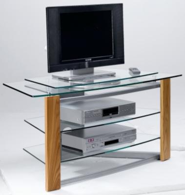 Meubles tv hi fi 7 for Petit meuble bas tv