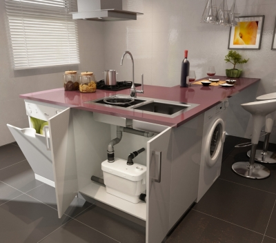 broyeurs et pompes salle de bain. Black Bedroom Furniture Sets. Home Design Ideas