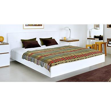 lit thelma blanc 160 x 200 cm. Black Bedroom Furniture Sets. Home Design Ideas