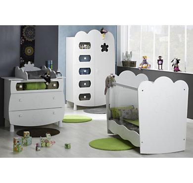 chambre b b compl te sil ne plexiglas. Black Bedroom Furniture Sets. Home Design Ideas