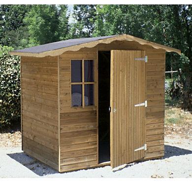 Abri jardin c i h b europe 4 m2 equipement de jardin - Abri de jardin autoclave classe 4 ...