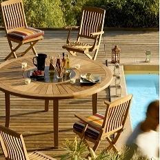 tables jardin bois jardin page n 2. Black Bedroom Furniture Sets. Home Design Ideas