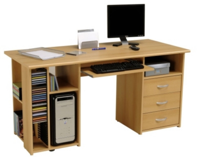 Bureaux adulte 12 for Bureau multimedia blanc