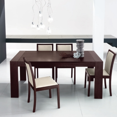 Tables repas 32 - Table rectangulaire wenge ...