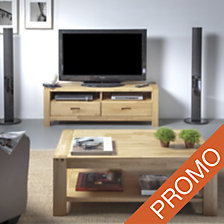 Ensemble table basse et meuble TV Luminescenc...