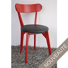 Lot de 2 chaises assise ronde Palace