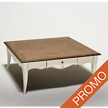 Table basse carrée Romance