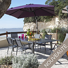 Table OCEO Florence 200/300 x 110 cm, alumini...