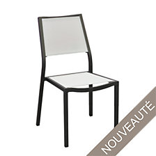 Lot de 2 chaises OCEO Florence black/gris, em...