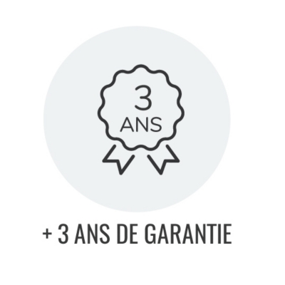 Extension de garantie + 3 ans  Table induction