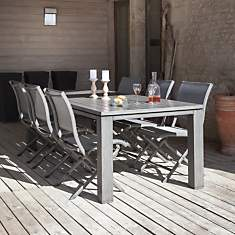 Table OCEO Latino, aluminium 240 x 98 cm...