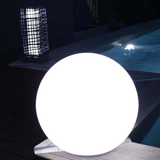 le boule 216 38 cm watt home 233 clairage d ext 233 rieur solaire nomade