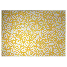 Tapis Society Circle ESPRIT HOME, jaune