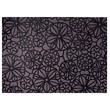Tapis Society Circle ESPRIT HOME, noir