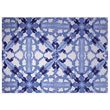 Tapis Blue Abstract ESPRIT HOME